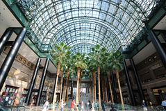 World Financial Center. The Winter Garden, part of the World Financial Center buildings in the Financial District of New York City Stock Photography