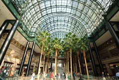 World Financial Center. The Winter Garden, part of the World Financial Center buildings in the Financial District of New York City Stock Photo