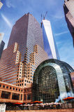 World Financial Center building in New York City Royalty Free Stock Photo
