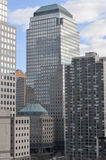 World Financial Center - New York City. Architectural detail of the World Financial Center in New York City, USA royalty free stock photos