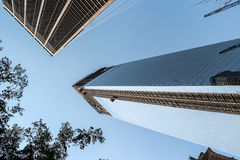World financial center in New York City Royalty Free Stock Photos