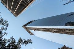 World financial center in New York City Royalty Free Stock Photos