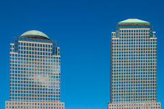 World Financial Center. Two towers of the world financial centers in Manhattan Stock Photo