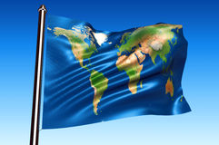 World flag Royalty Free Stock Photography