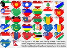 World_flag Royalty Free Stock Photo
