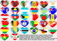 World_flag_EPS10 Royalty Free Stock Photo