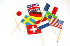 World flags Stock Photography