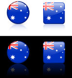 World Flags: Australia Stock Photo