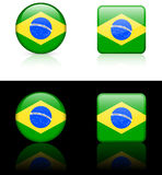 World Flags: Brazil Stock Image