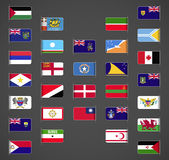World flags collection, Others, part 3 Royalty Free Stock Photography