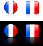 World Flags: France Royalty Free Stock Photos