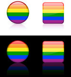 World Flags: Gay pride Stock Image