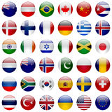 World Flags Icon Set Royalty Free Stock Photos