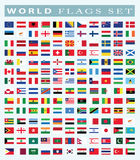 World Flags icon, vector illustration. Stock Images