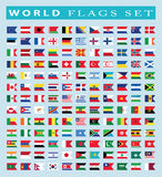 World Flags icon, vector illustration. Royalty Free Stock Photography