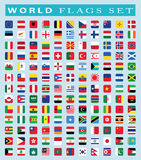 World Flags icon, vector illustration. Stock Photos