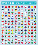 World Flags icon, vector illustration. Stock Photography