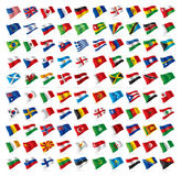 World flags official set  Royalty Free Stock Photography