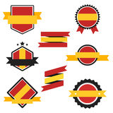 World Flags Series. Vector Flag of Spain. Royalty Free Stock Photo