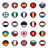 World flags set vector Stock Images