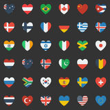 World Flags Royalty Free Stock Photos