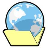 World folder Stock Image