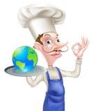 World Food Chef Royalty Free Stock Photos