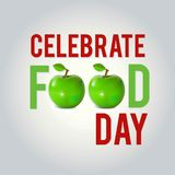 World Food Day Vector Illustration. World Food Day  Cards. World. Food Day  poster.. For web design and application interface, also useful for infographics Royalty Free Stock Image