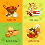 World Food Set Stock Images