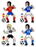 World football Royalty Free Stock Photo