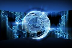 World Football Concept Royalty Free Stock Image