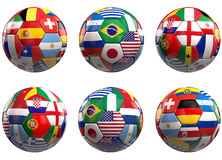 World Football Finalists 2014 Stock Images