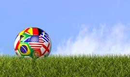 World Football / Soccer Royalty Free Stock Photos