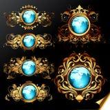 World frames set Royalty Free Stock Photo