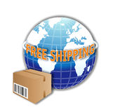 World Free Shipping Stock Images