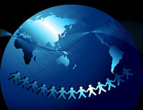 World_friendship Lizenzfreies Stockbild