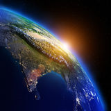 World geography Royalty Free Stock Photography