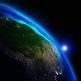 World geography Stock Image