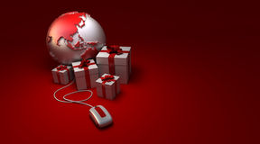 World gifts online America Royalty Free Stock Photos