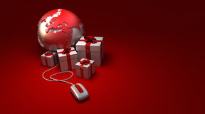 World gifts online Europe Royalty Free Stock Image