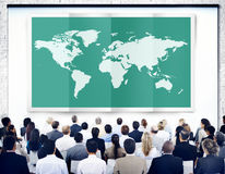 World Global Business Cartography Globalization International Co Stock Photography
