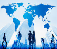 World Global Cartography Globalization Earth Concept Royalty Free Stock Photography