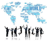 World Globalization International Life Planet Concept Stock Photography