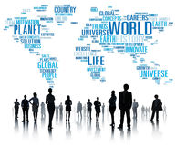 World Globalization International Life Planet Concept Stock Photos