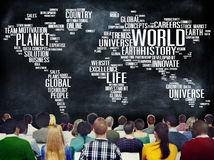 World Globalization International Life Planet Concept.  Stock Image