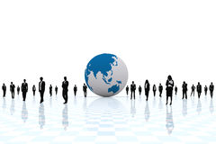 World globalized. Royalty Free Stock Image
