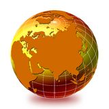 World globe 1 stock illustration