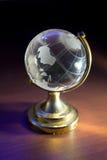 World globe. On desk.  business concept royalty free stock photos