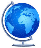 World globe. Illustration of a desk World globe Royalty Free Stock Image