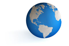 World Globe Royalty Free Stock Photography